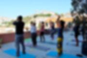 Yoga in Lisbon