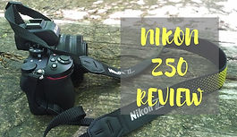 Travel photography camera Nikon Z50 review