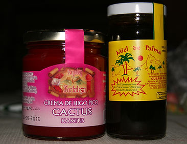 Cactus jam and palm tree honey