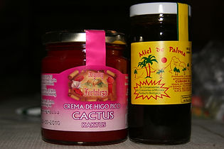 Cactus jam and palm honey