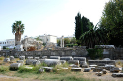Ancient ruins in Kos Town