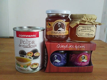 What to eat on Sao Miguel - local jams and honey
