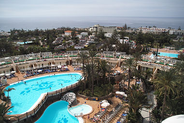 Gloria Palace San Agustin Gran Canaria view from room