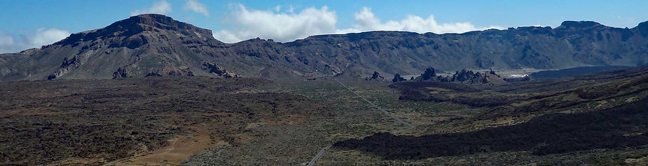 What to do in Tenerife - view over Teide National Park from above