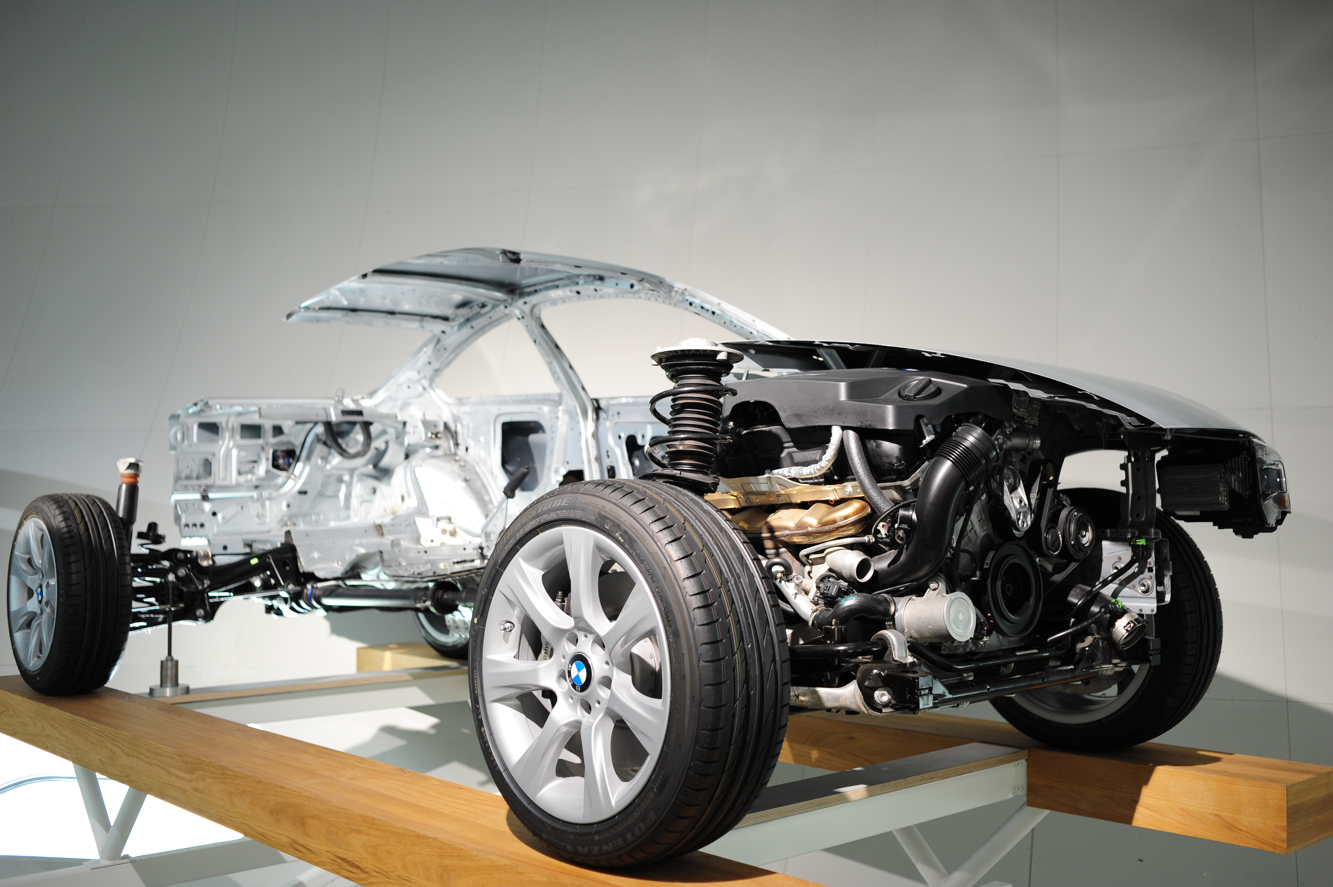 In the BMW museum
