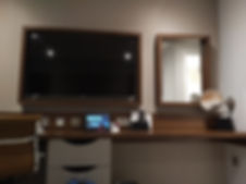 Wyboston Lakes Hotel deluxe room TV and tablet