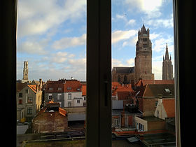 Hotel Portinari Bruges view from room