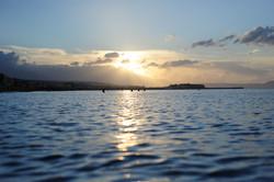 Rethymnon at sunset