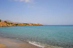 Frangocastello beach