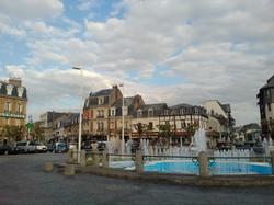 Deauville Place de Morny (central square)