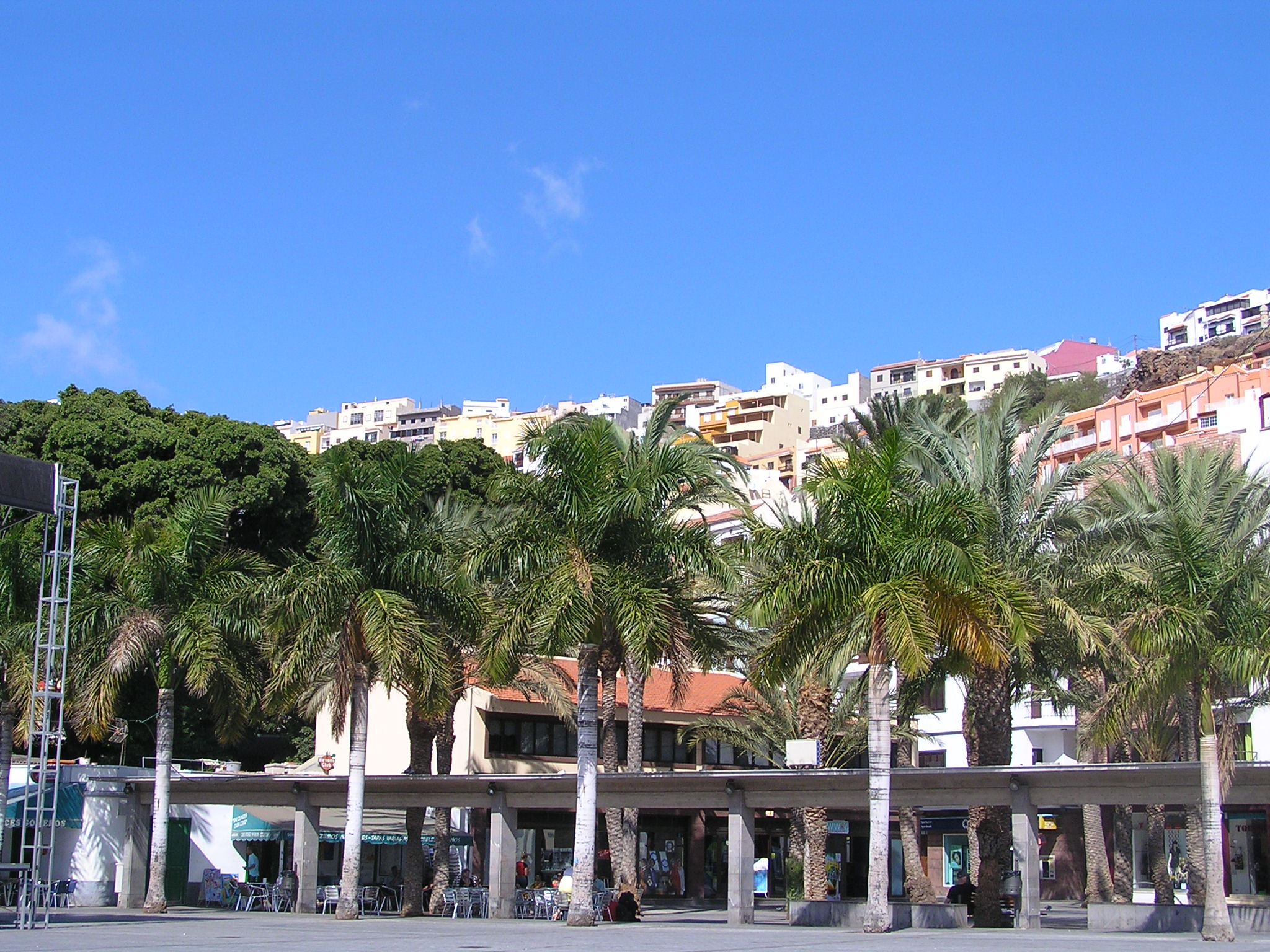 San Sebastian main square, La Gomera