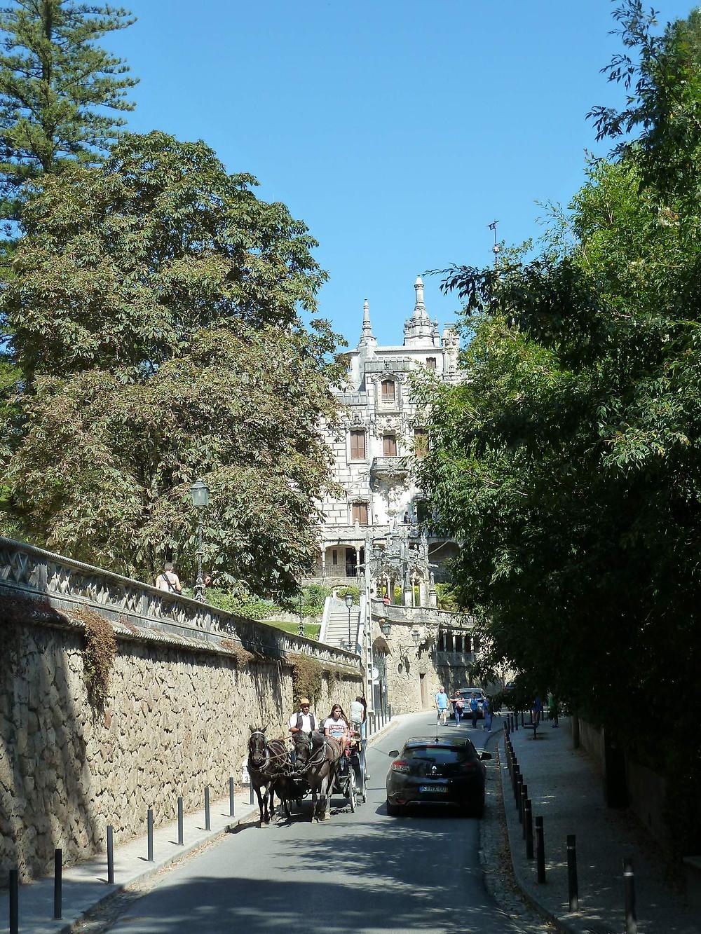 Walk to Quinta da Regaleira, Sintra