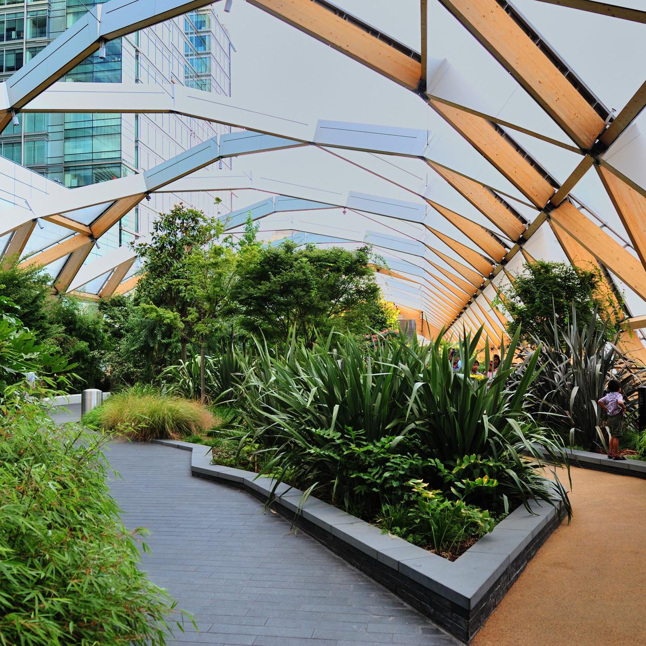 Crossrail Place Roof Garden London