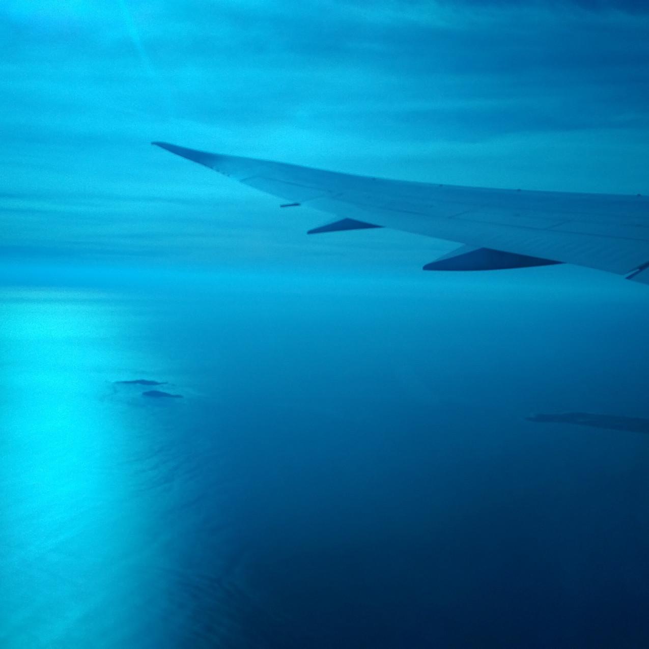 Boeing 787 Dreamliner window dark tint