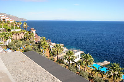 Vidamar Resort Madeira Review - Pool and olive gardens