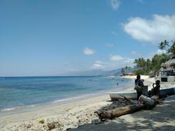 Quimixto beach