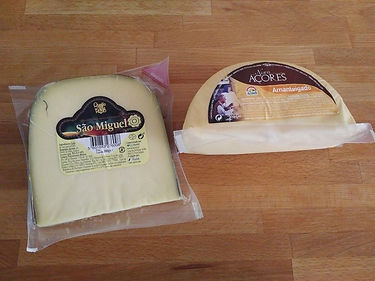 Azorean local cheese