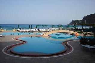 Lindos Memories pool area