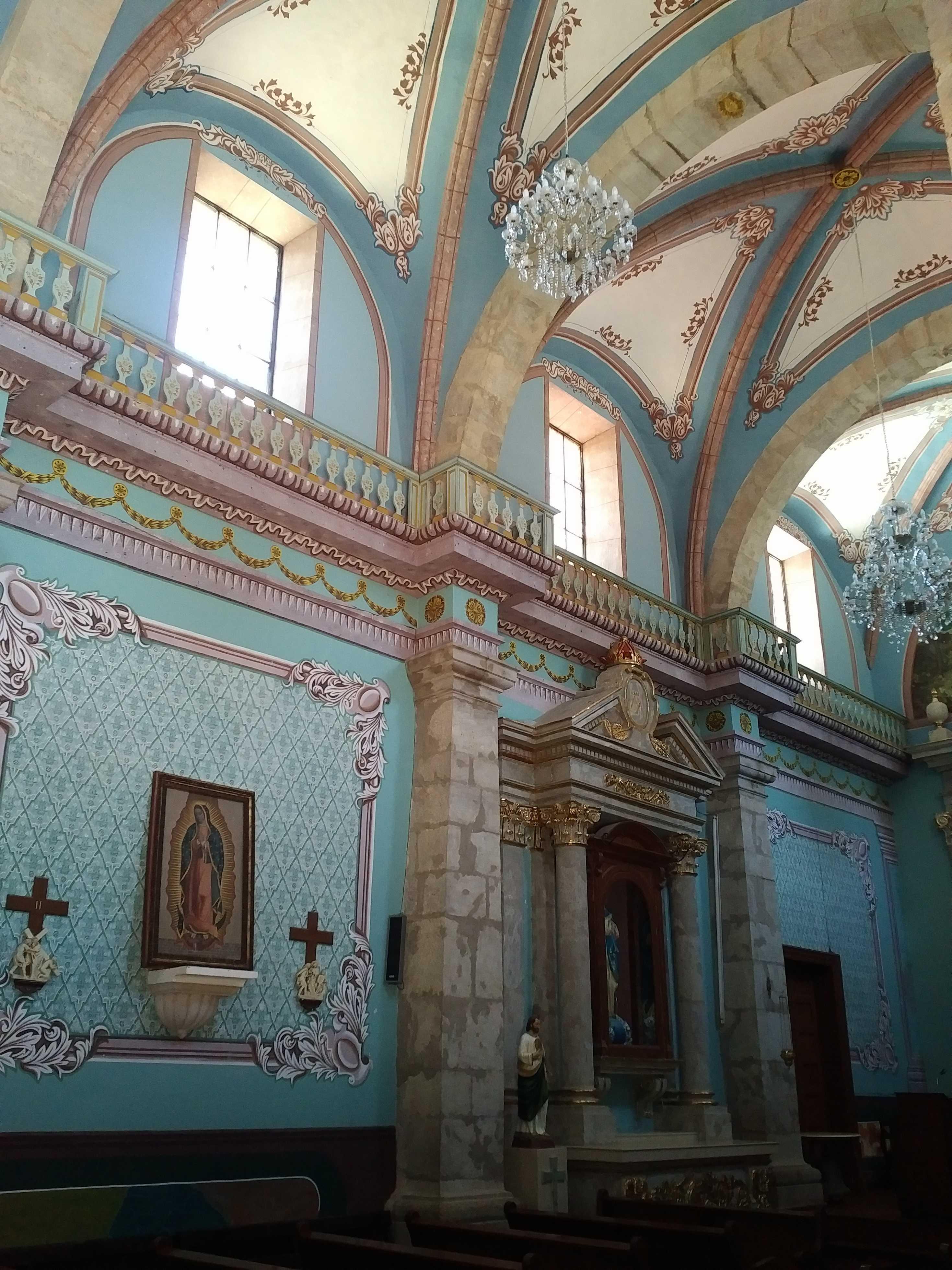 Church in San Sebastian del Oeste