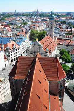 View from St Peter's church, Munich