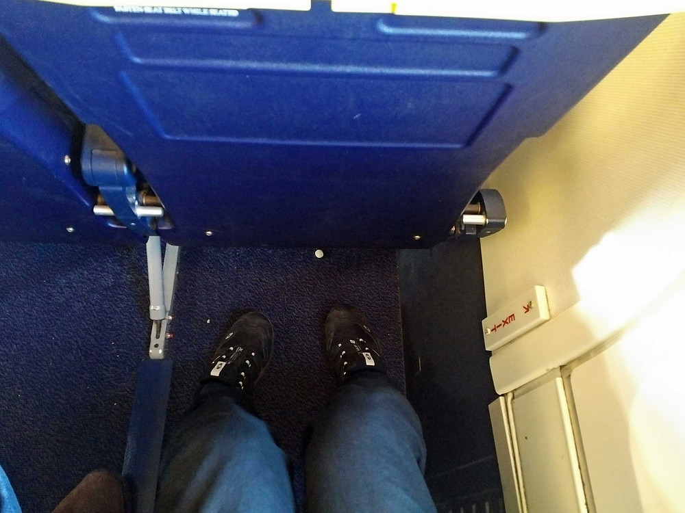 Ryanair emergency exit seats legroom