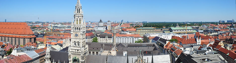 Guide to Munich sights - view from St Peter's Church