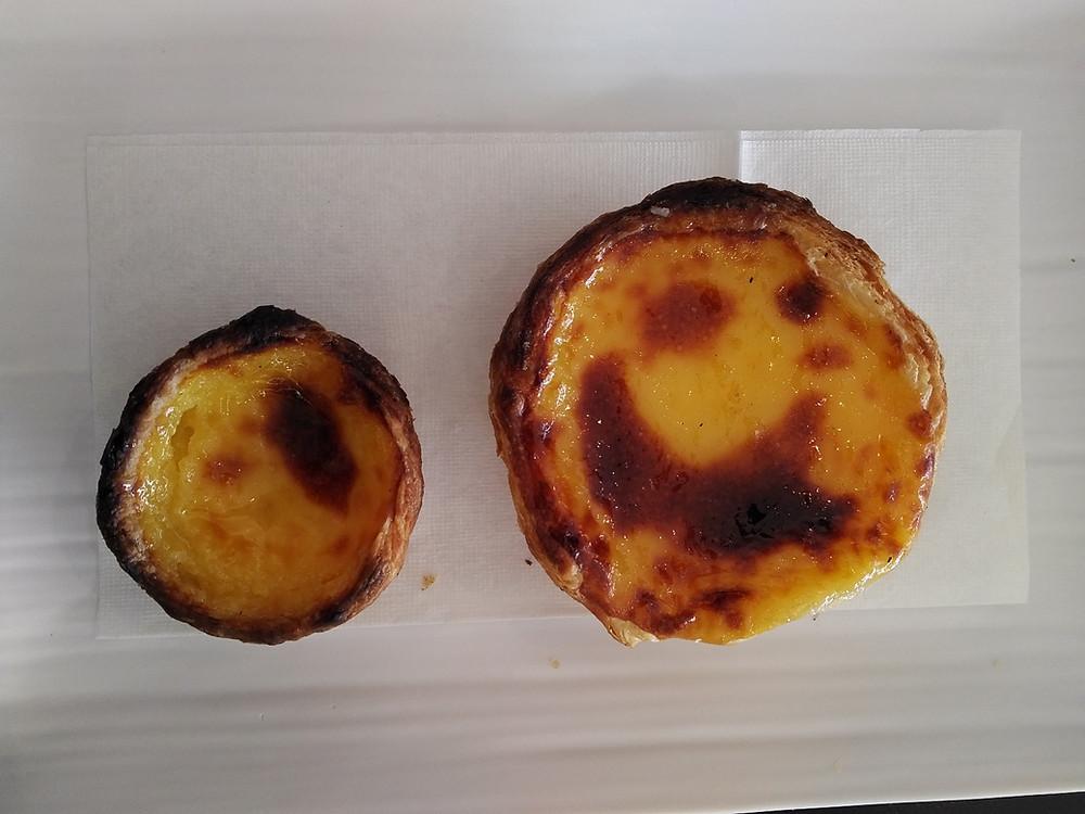 Pastel de Nata at A Confeitaria Funchal