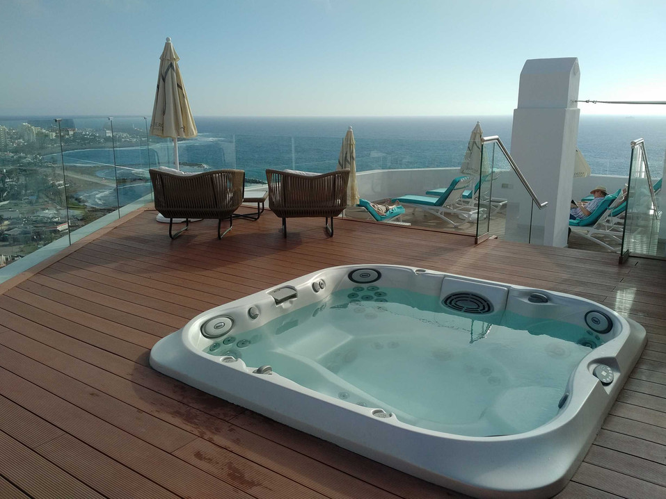 Iberostar Bouganville Playa - Star Prestige rooftop terrace