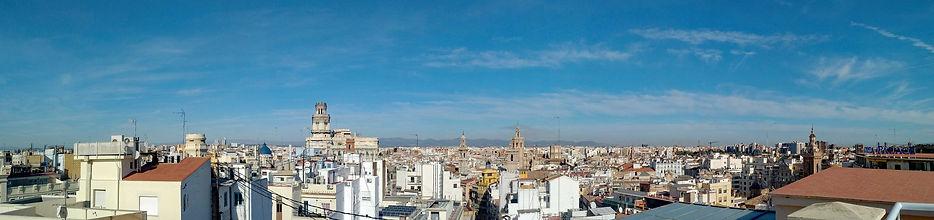 Valencia city guide - Old Town (Ciutat Vella) from Mirador del Ateneu