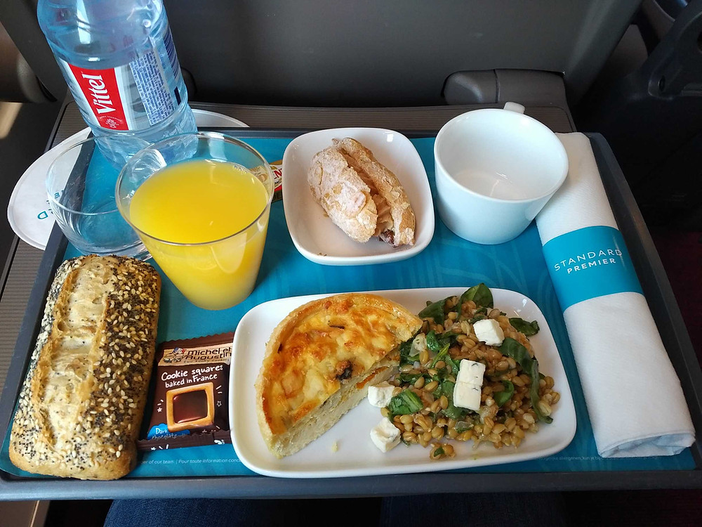 Eurostar Standard Premier food