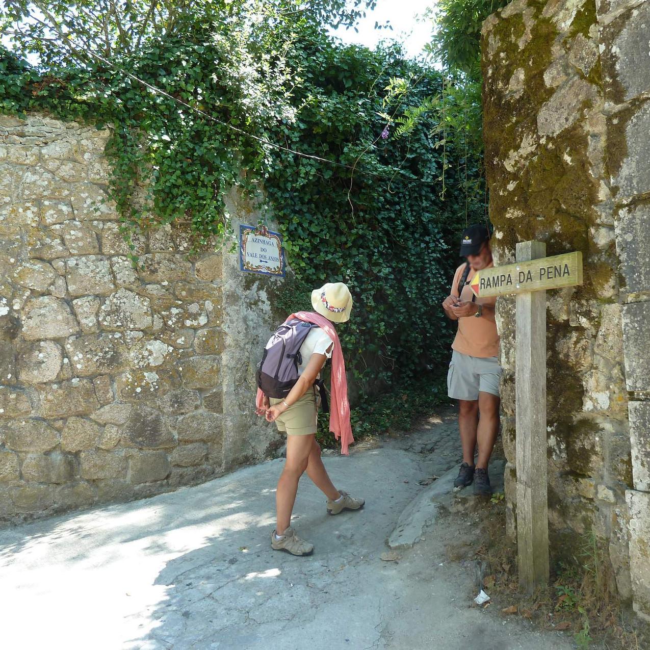 Entrance to Rampa da Pena