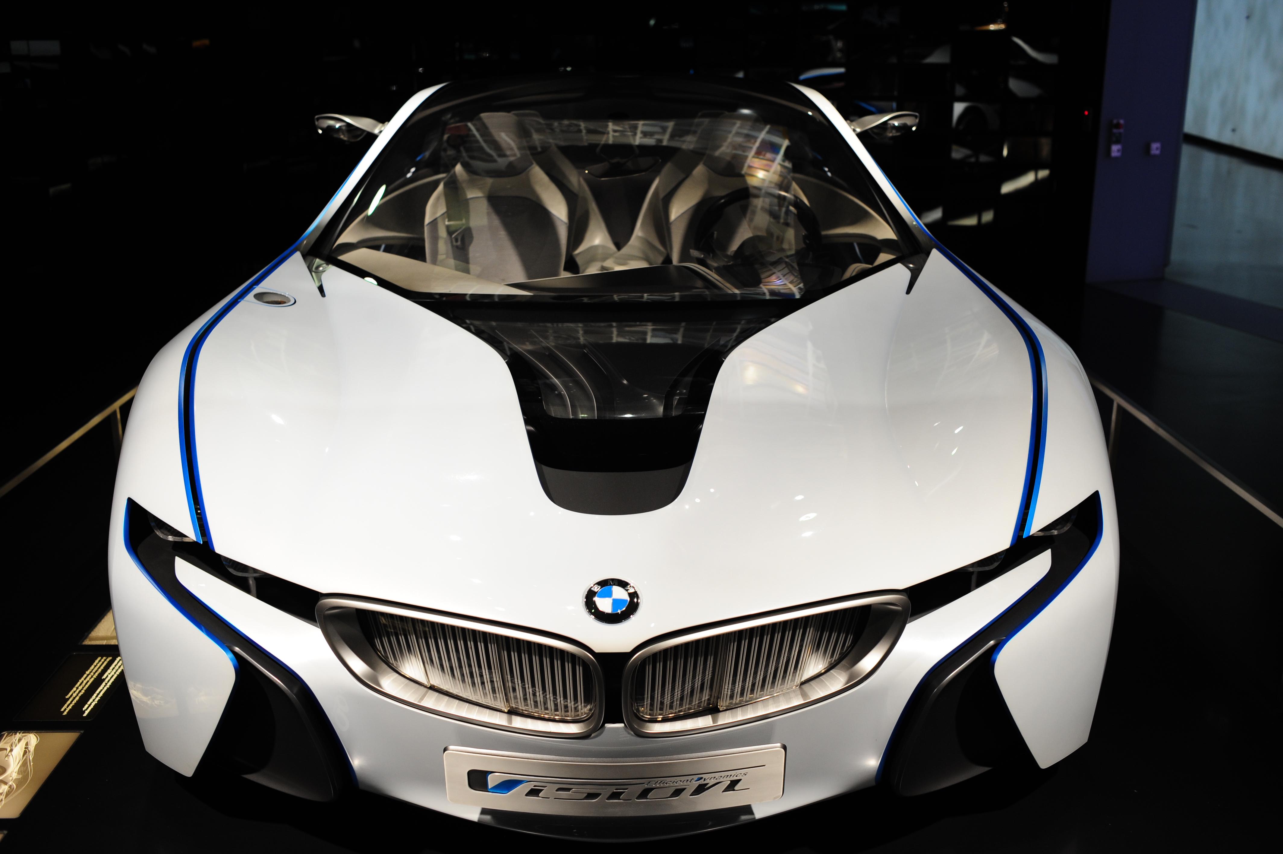 Concept car in BMW museum