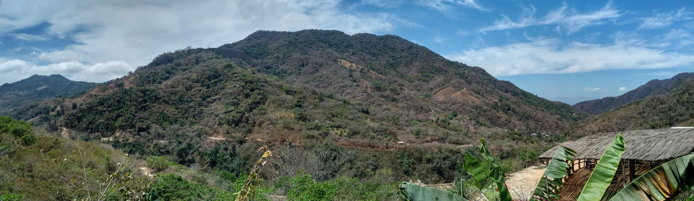 Sierra Madre mountains panorama