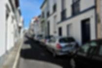 Sao Miguel travel guide - A narrow street in Ponta Delgada, Azores