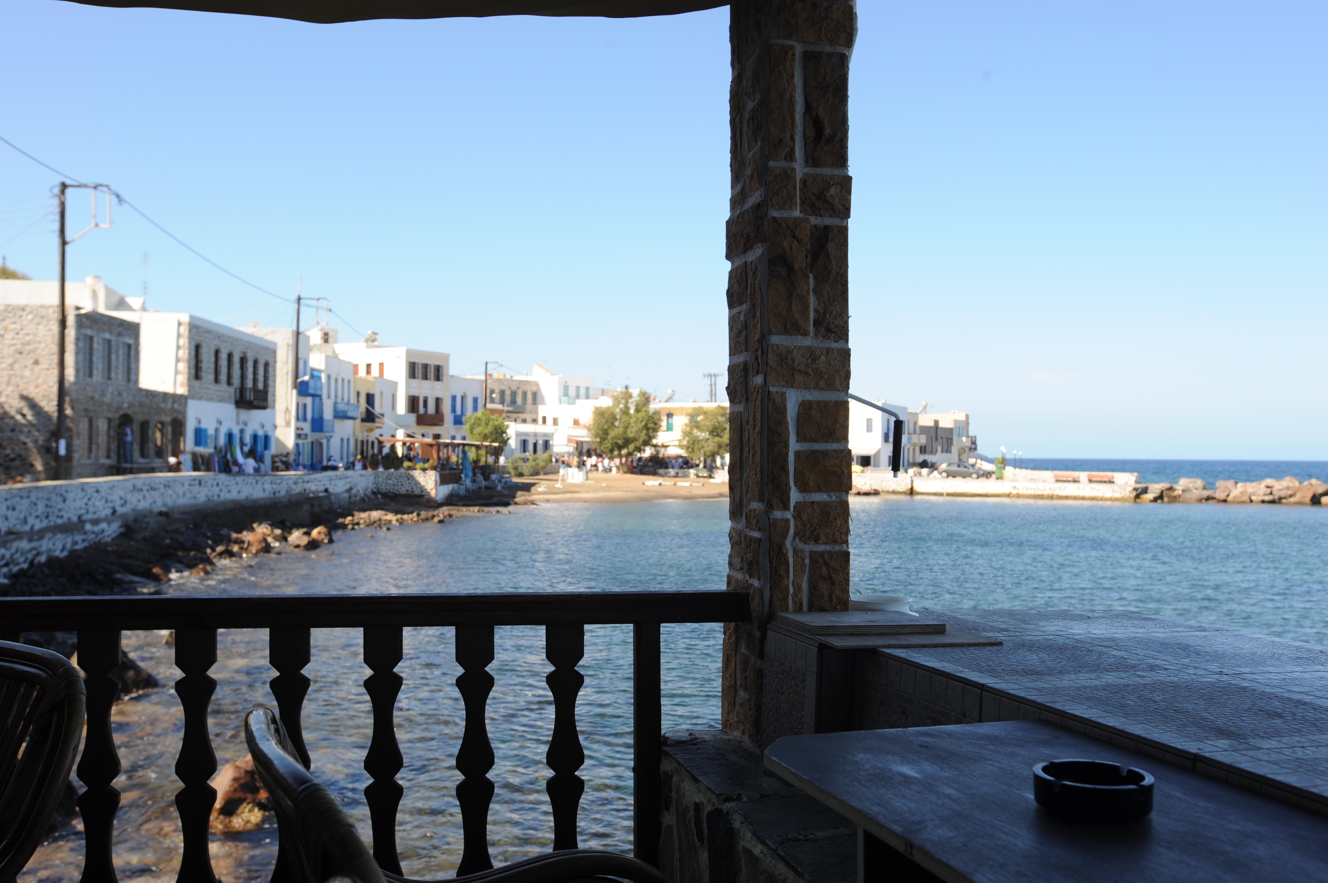 Seafront taverna, Nisyros