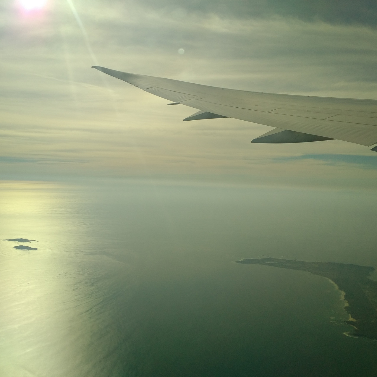 Boeing 787 Dreamliner window no tint