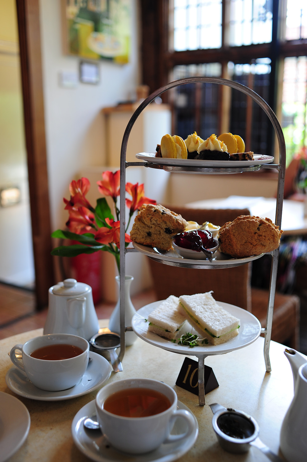 Afternoon tea in Canterbury