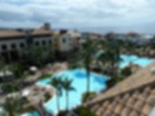 Costa Adeje Gran hotel Tenerife pool area