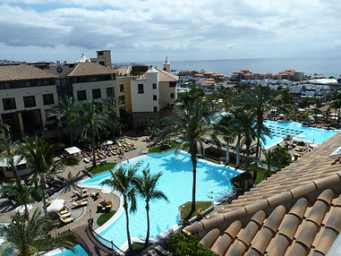 Costa Adeje Gran Tenerife view pool area
