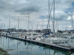 Deauville harbour