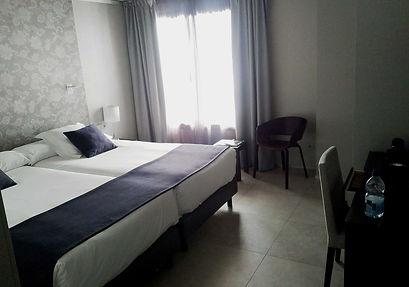 Vincci Mercat hotel review - standard room