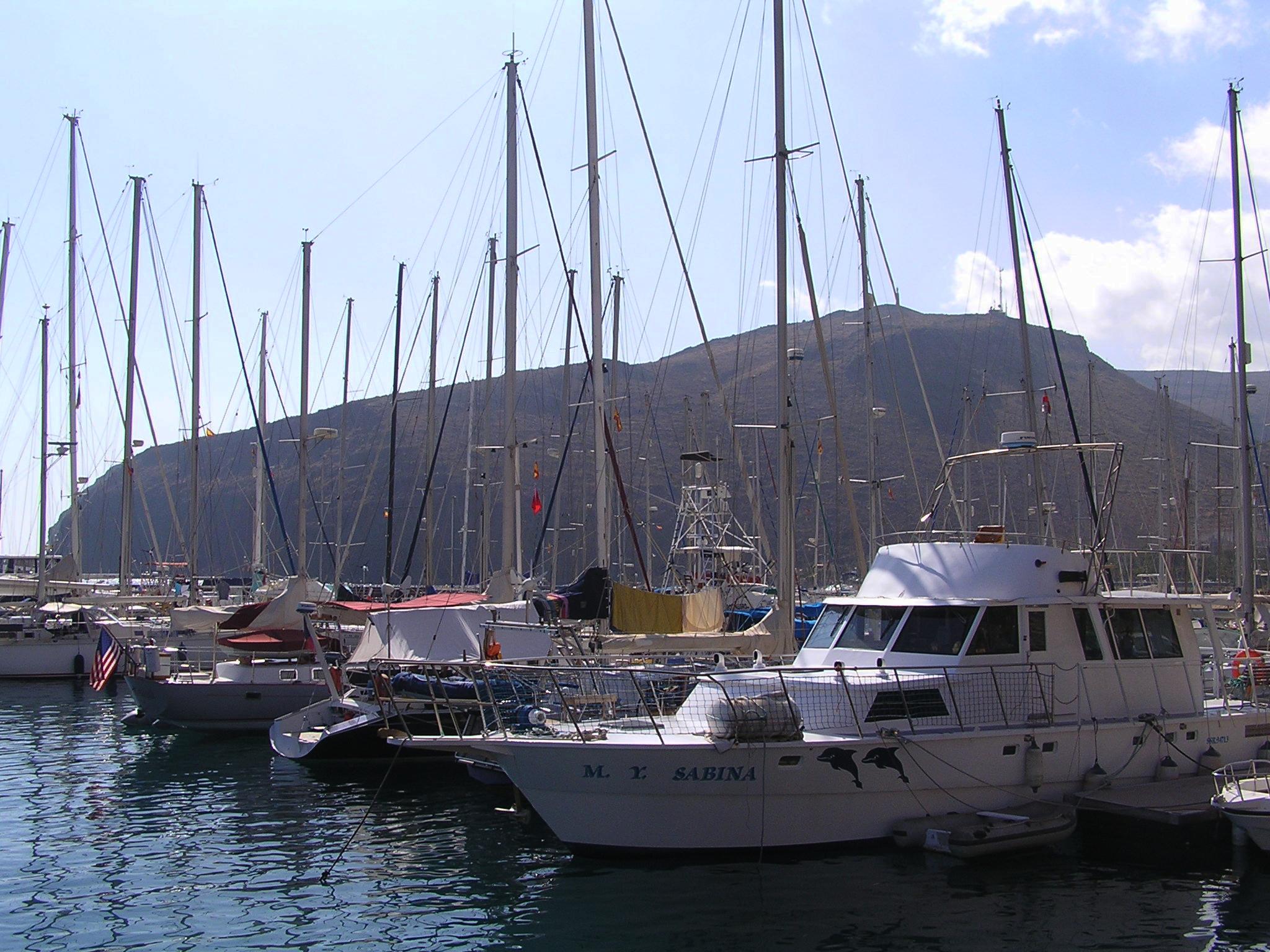 San Sebastian harbour, La Gomera