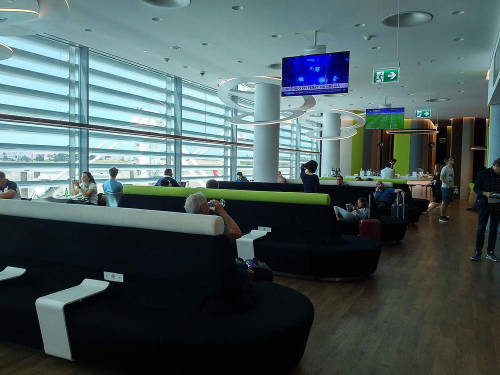 TAP Lisbon lounge sofa seating