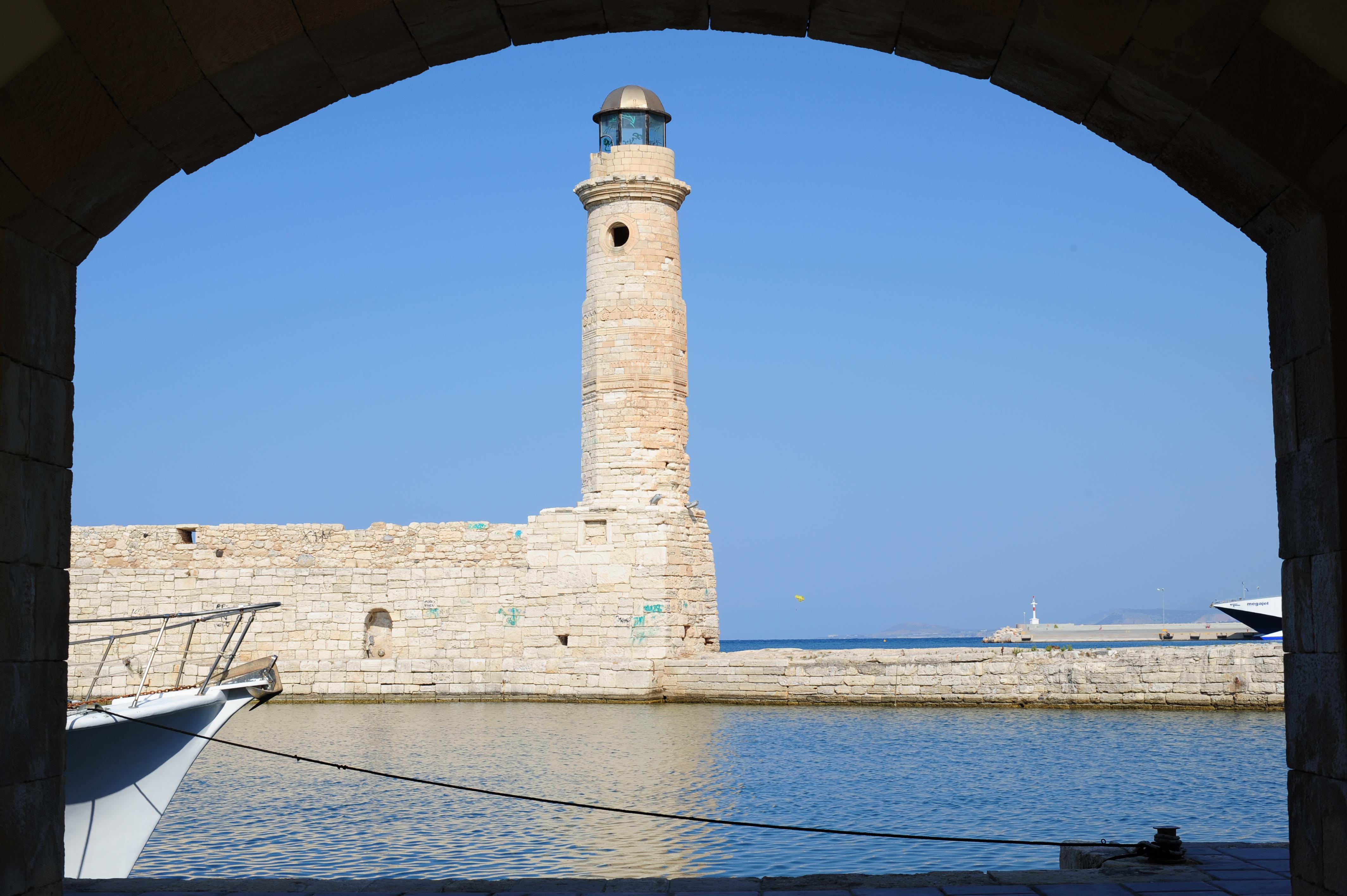 Rethymnon lighthouse