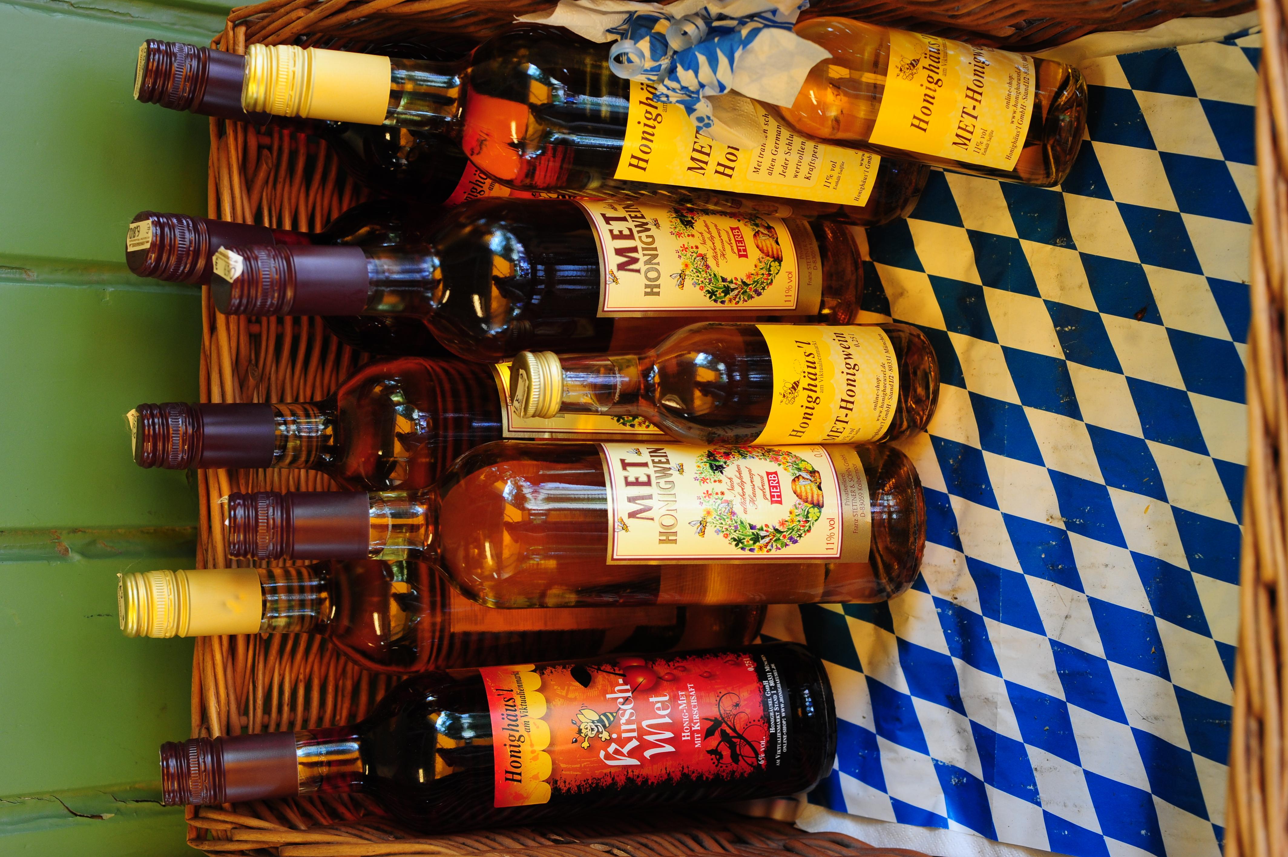 Honey wine at Viktualientmarkt