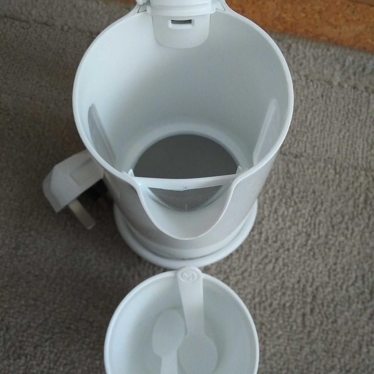 Best travel kettle - Kenwood look inside