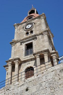 Medieval clock tower, Rhodes