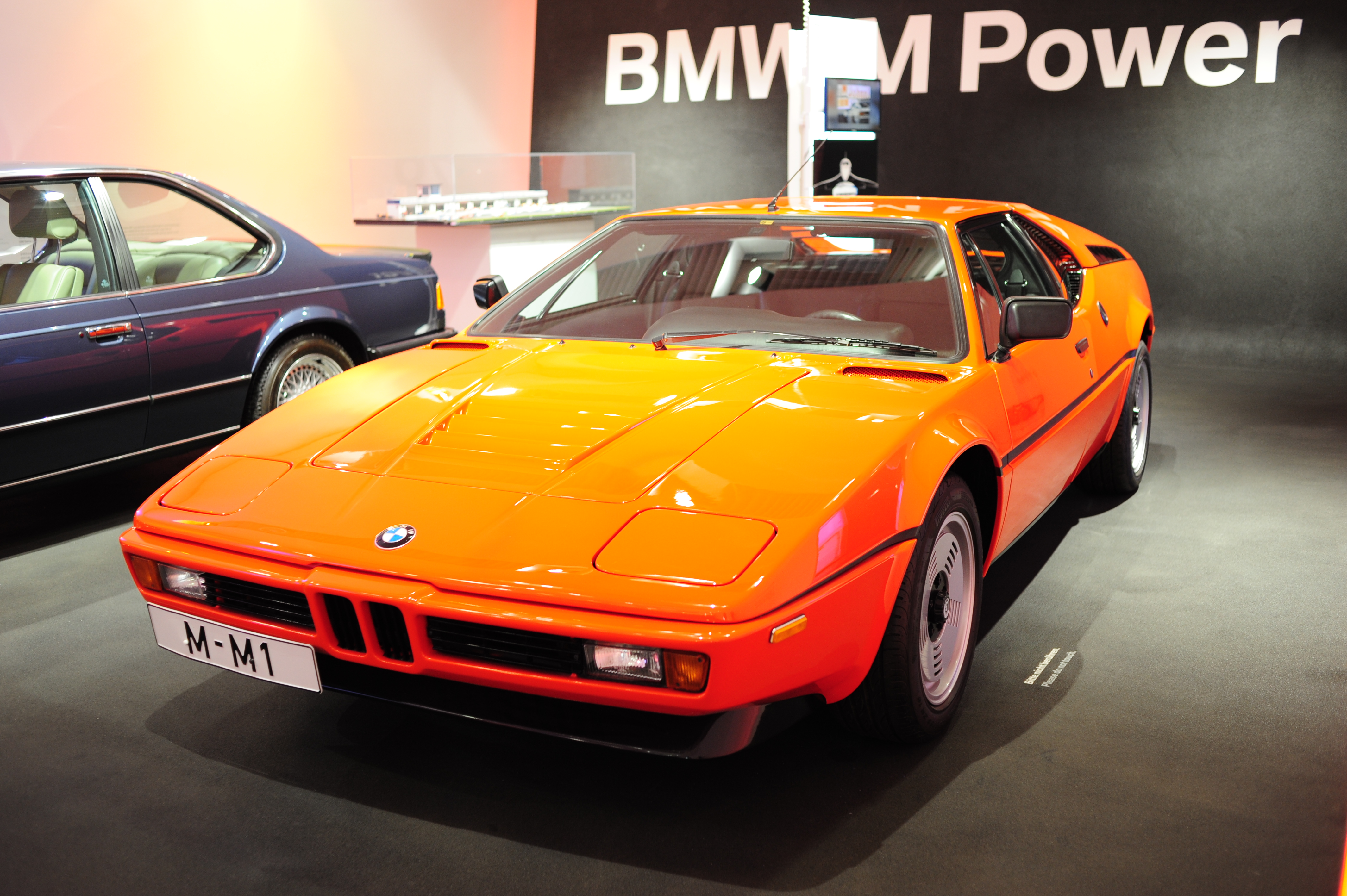 M1 in the BMW museum
