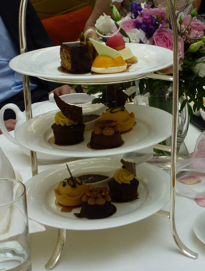 The Landmark Hotel Afternoon Tea - A Foodie Guide to London