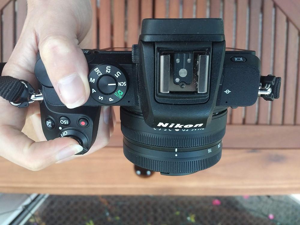 Nikon Z50 Review - Grip
